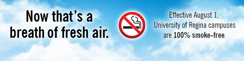 Please respect our smoke-free policy and help us enjoy a clean-air campus.