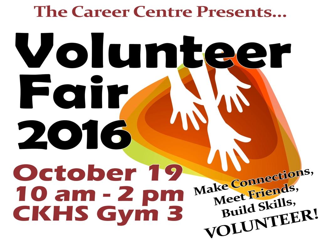 looking back on volunteer fair volunteer fair university volunteer fair 2016