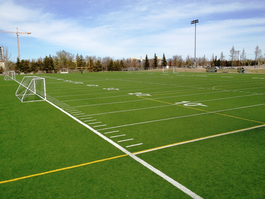 Backyard Turf Field : the artificial turf field field 2 is located just south of the ckhs