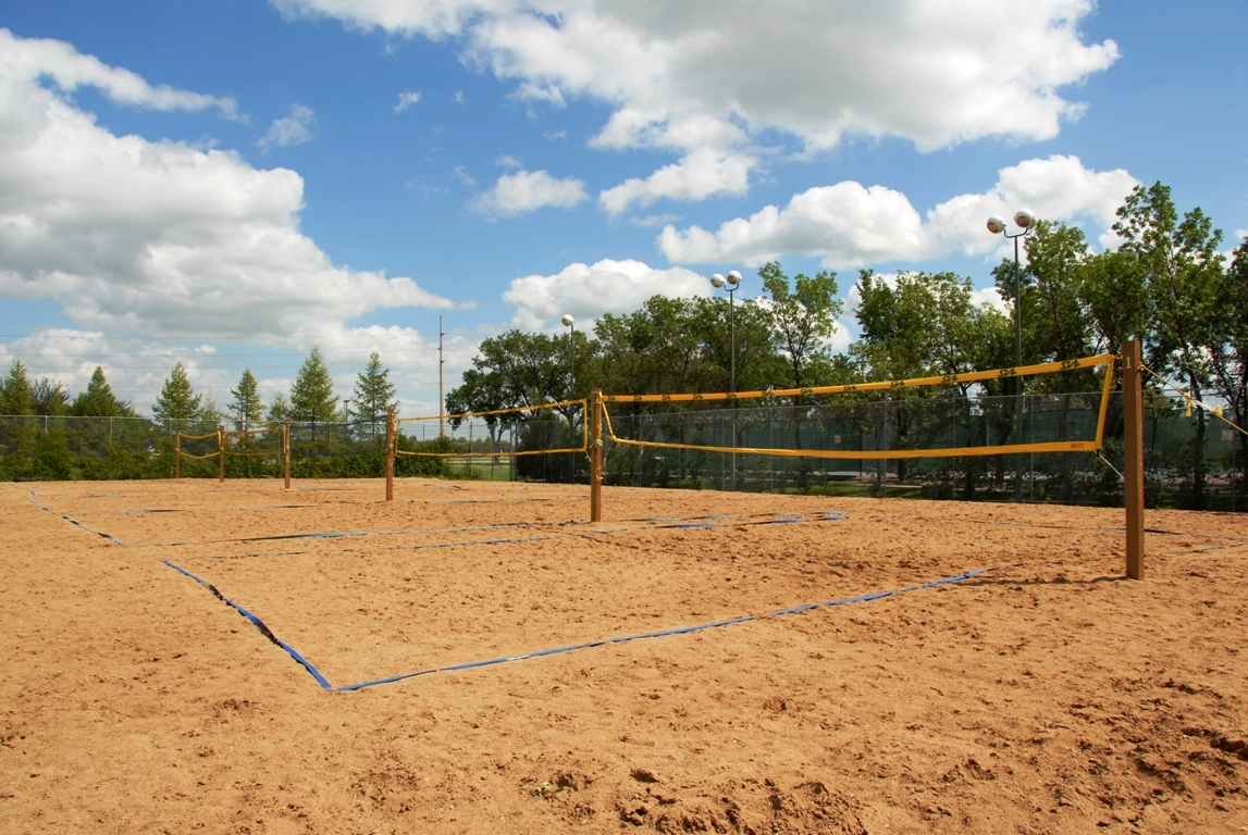 Backyard Sand Volleyball Court : Volleyball Court Construction