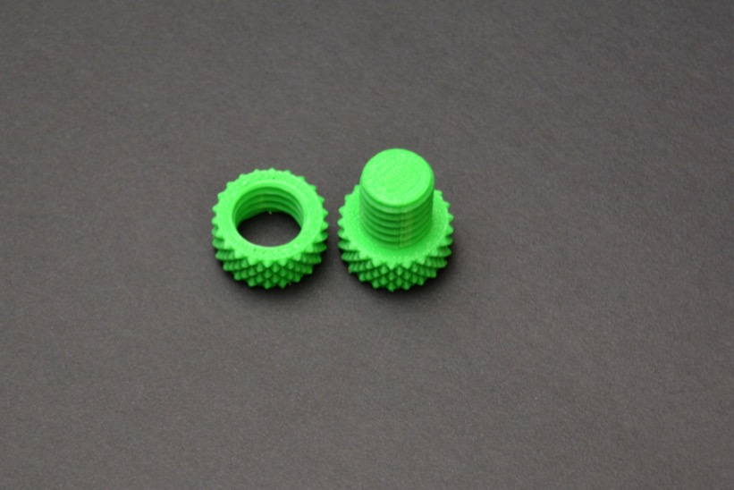 Green Nut And Bolt